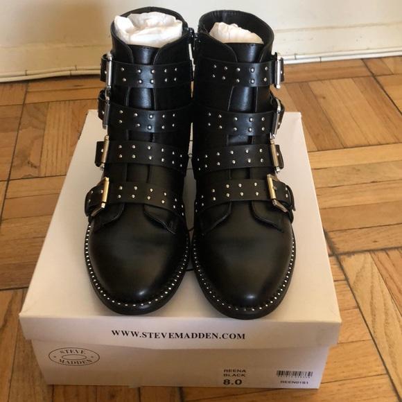 f17e0628ba4 Brand new Reena boots by steve madden :)!